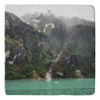 Green Landscape Trivet