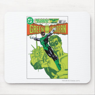 Green Lantern - Action Comic Cover Mouse Pad