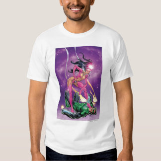 Green Lantern and Star Sapphire - Color T Shirt