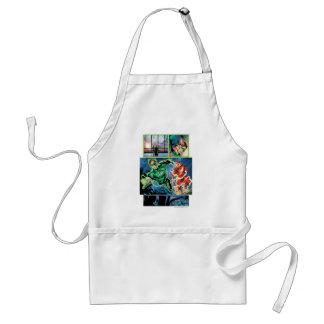 Green Lantern and The Flash Panel Standard Apron