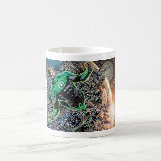 Green Lantern and the Moon Coffee Mug