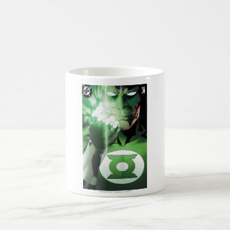 Green Lantern close up cover Classic White Coffee Mug