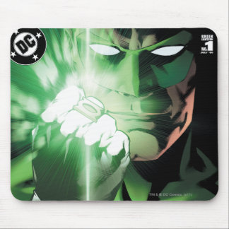 Green Lantern close up cover Mouse Pad