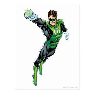 Green Lantern - Comic Arm out Post Cards