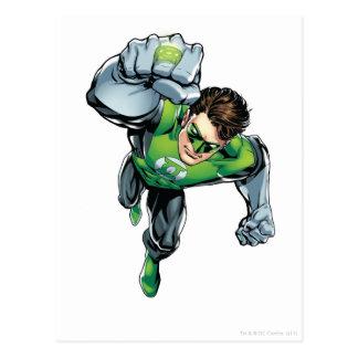 Green Lantern - Comic Arm Raise Post Cards