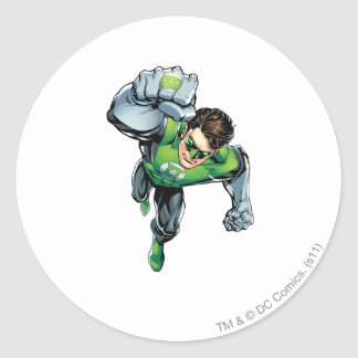 Green Lantern - Comic,  Arm Raise Round Sticker