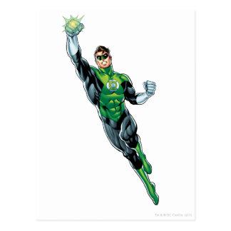 Green Lantern - Comic Flying Up Post Card