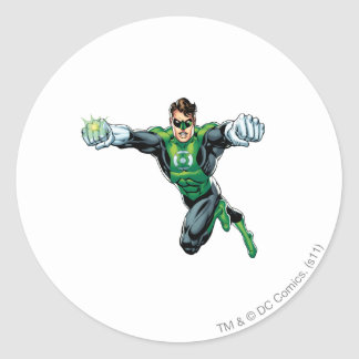 Green Lantern - Comic,  Looking Forward Round Sticker
