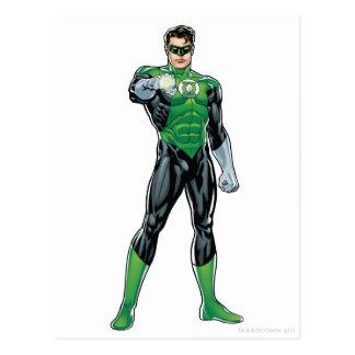 Green Lantern - Comic Standing Postcards