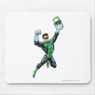Green Lantern - Comic with lantern Mousepad