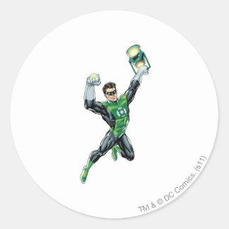Green Lantern - Comic, with lantern Stickers