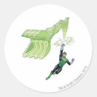 Green Lantern - Comic, with machine Sticker
