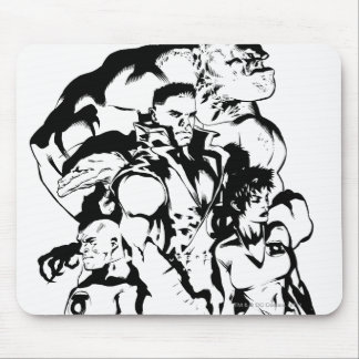 Green Lantern Corps, Black and White Mouse Pad
