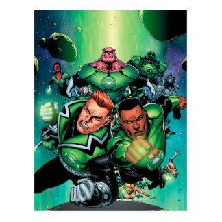 Green Lantern Corps Postcard