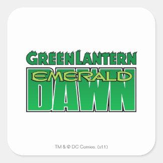 Green Lantern - Emerald Dawn Logo Stickers