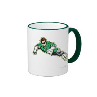 Green Lantern Energy Beam Ringer Coffee Mug