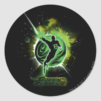 Green Lantern - EO Round Sticker