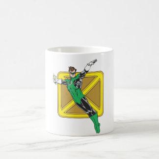 Green Lantern Extends Arms Coffee Mug