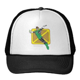 Green Lantern Extends Arms Trucker Hat