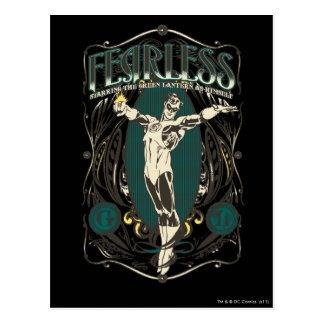 "Green Lantern - ""Fearless"" Poster Postcard"