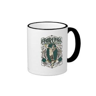 """Green Lantern - """"Fearless"""" Poster Ringer Coffee Mug"""
