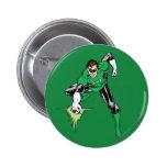 Green Lantern Fight Pinback Buttons