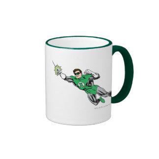 Green Lantern Fly Left 2 Ringer Mug