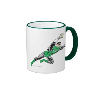Green Lantern Fly Right Ringer Coffee Mug