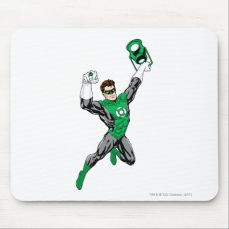 Green Lantern - Fully Rendered with lantern Mouse Pads