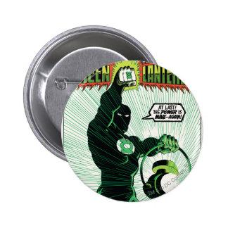 Green Lantern - Glowing Lantern 2 Inch Round Button