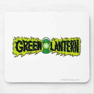 Green Lantern - Glowing Lantern 2 Mouse Pad