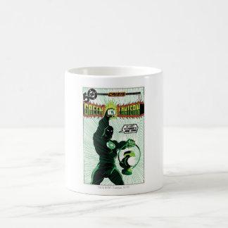 Green Lantern - Glowing Lantern Basic White Mug