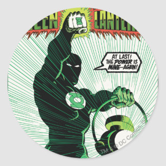 Green Lantern - Glowing Lantern Sticker