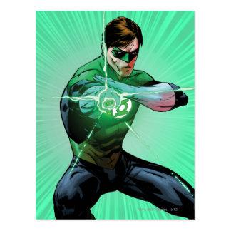 Green Lantern Glowing Ring Post Cards