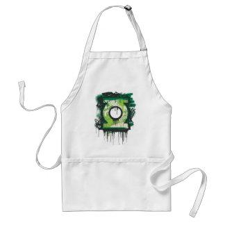 Green Lantern Graffiti Symbol Standard Apron