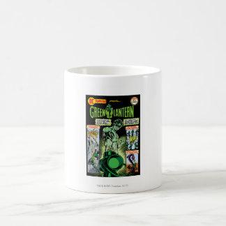 Green Lantern  - Green Shaded Comic Basic White Mug