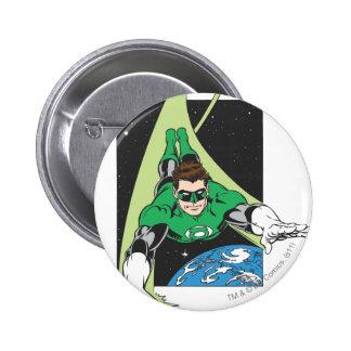 Green Lantern in Space 2 Inch Round Button