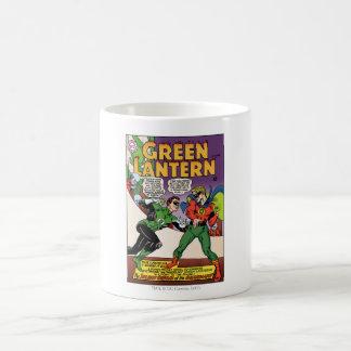 Green Lantern in the ring Basic White Mug