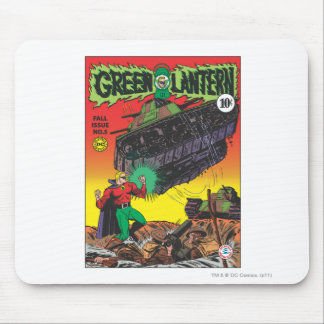 Green Lantern in the trenches Mouse Pad