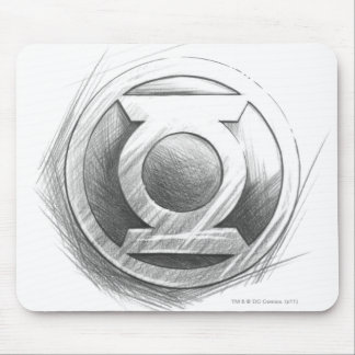 Green Lantern Insignia Mouse Pad