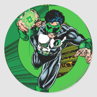 Green Lantern - It all begins here Round Sticker