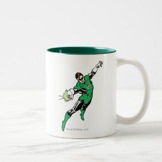 Green Lantern Jump Two-Tone Mug