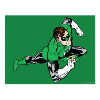 Green Lantern Leap Right Postcard