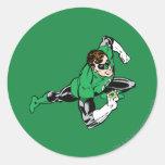 Green Lantern Leap Right Stickers