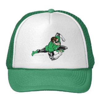 Green Lantern Leap Right Trucker Hat