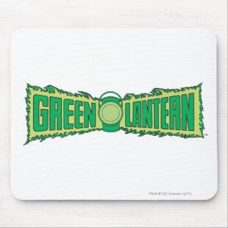 Green Lantern Letters 1 Mousepads