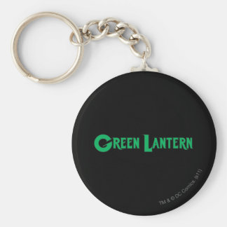 Green Lantern Letters 2 Basic Round Button Keychain