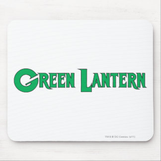 Green Lantern Letters 2 Mouse Pad