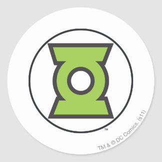 Green Lantern Logo 11 Round Sticker