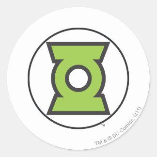 Green Lantern Logo 11 Round Sticker